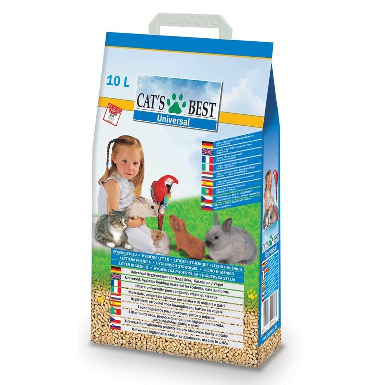 Asternut igienic Cat'S Best Universal 10 L 1