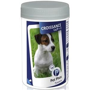 Vitamine pentru caini Pet Phos Croissance 100 tablete
